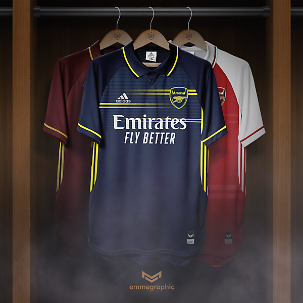 Arsenal FC | Adidas | Away