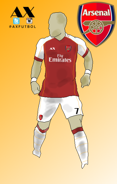 Arsenal Home kit, AX Design