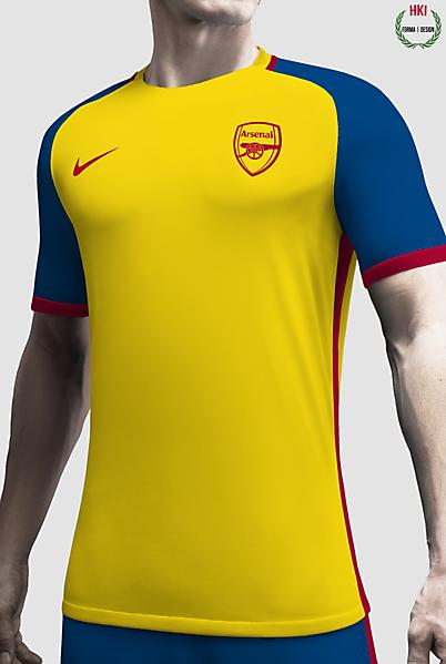 Arsenal x Nike Concept Away Kit