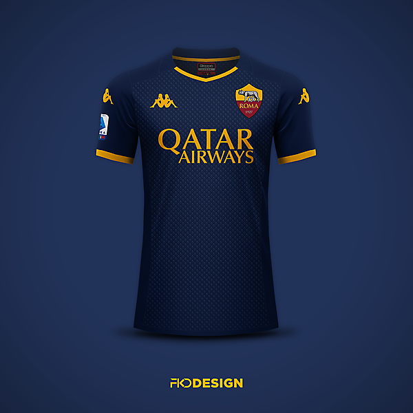 AS Roma   Kappa   Third   Inspired by 2000-01
