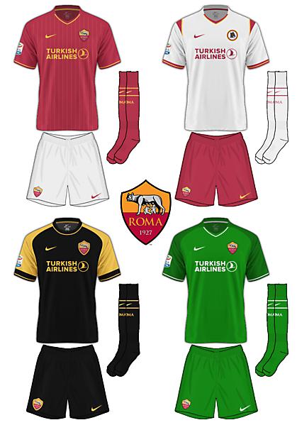 AS Roma Nike