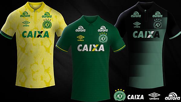 Associação Chapecoense / Umbro Kits