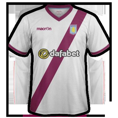 Aston Villa Away Kit 15/16