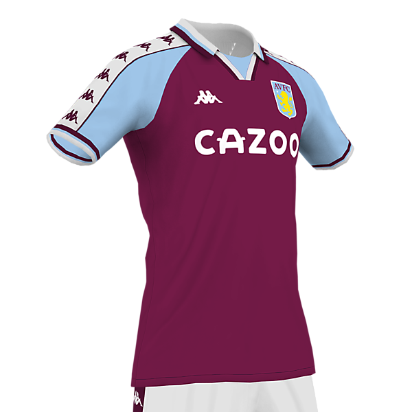 Aston Villa Concept Home Kit 20/21 Season
