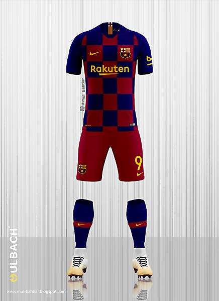 Barcelona 2018/2019 Home Kit Concept