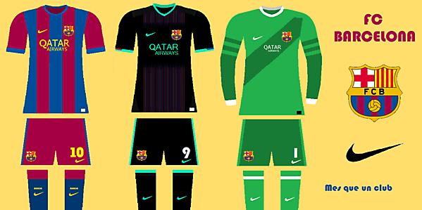 Barcelona concept kit 2