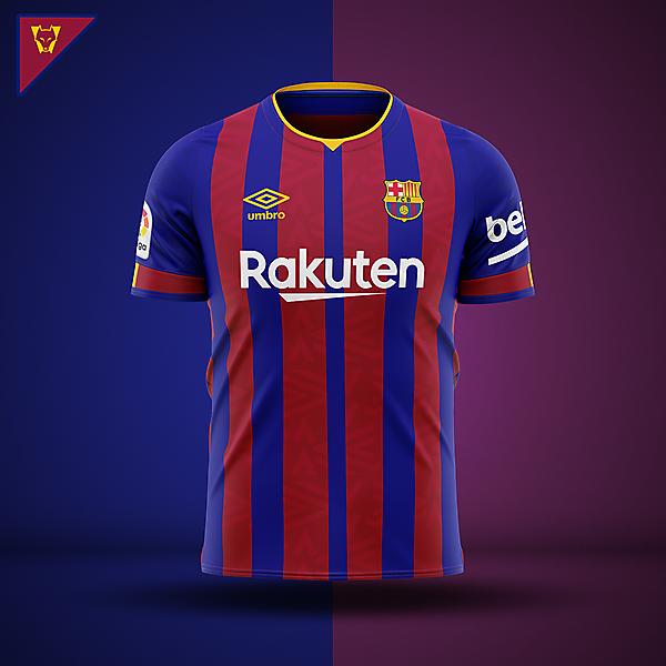 Barcelona x Umbro - home concept