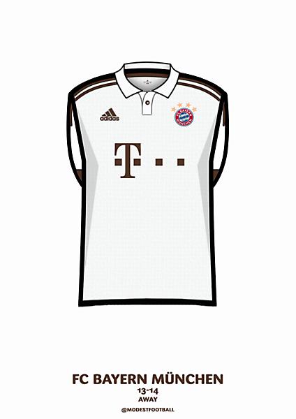 Bayern away 13-14