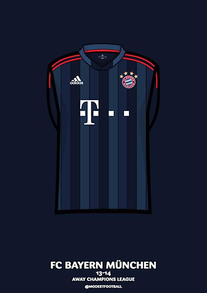 Bayern champions kit 13-14