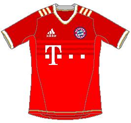 Bayern München Adidas Home Kit