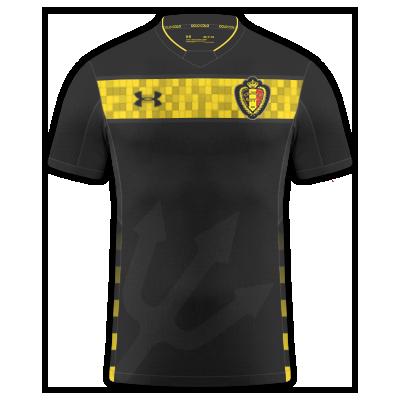 Belgium away kit EURO21