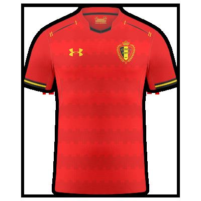 Belgium home kit EURO21