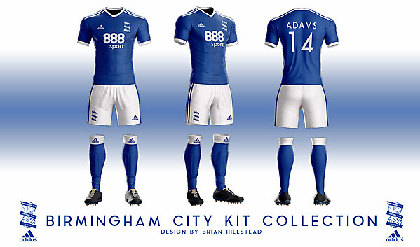 Birmingham City Adidas Concept 1