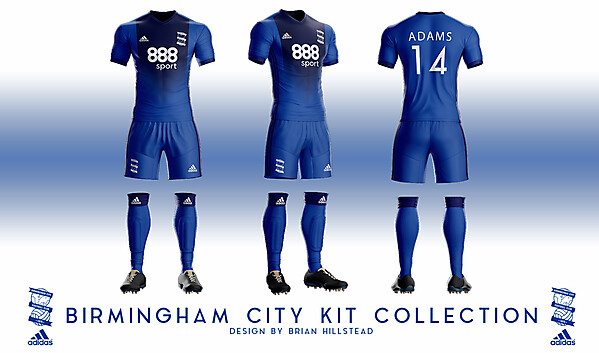 Birmingham City Adidas Concept 2