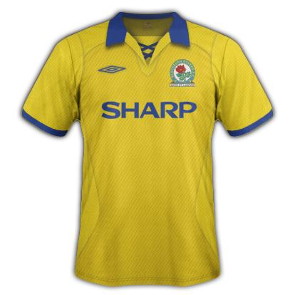 Blackburn Rovers retro style fantasy kit with Umbro