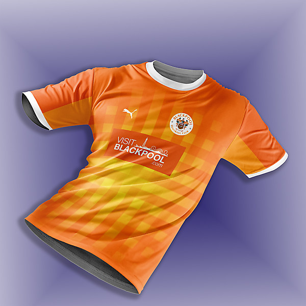 Blackpool FC home concept