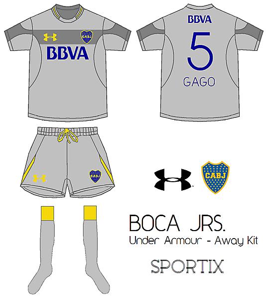 Boca Juniors - Away Kit By Under Armour