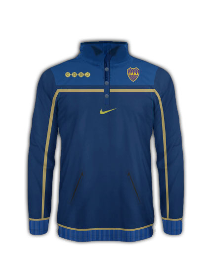 Boca Juniors Tracksuit Top