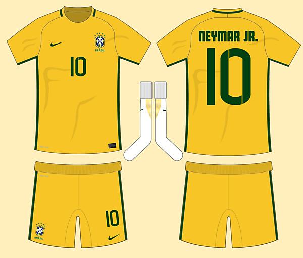 Brazil 2016-17 Home Kit (based on leaks)