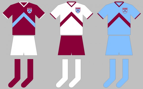 Burnley Home, Away and Third