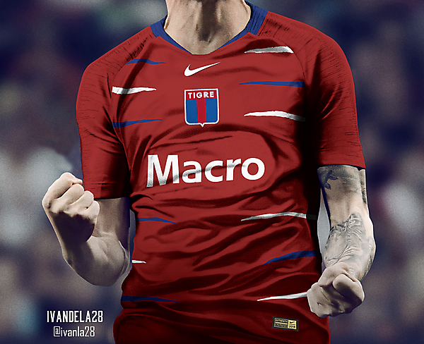 C.A. Tigre Third Kit