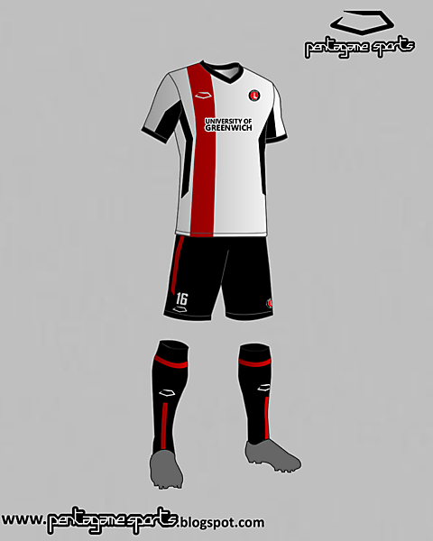 Charlton Athletic (England) Away Kit 2016