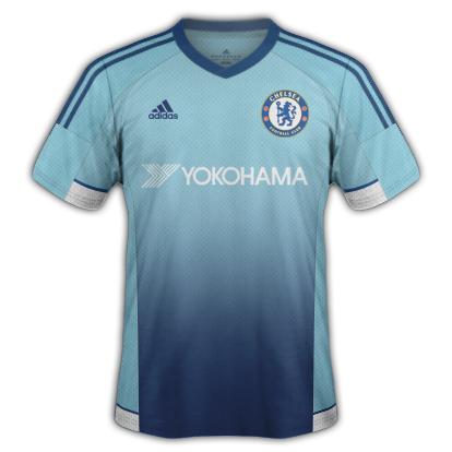 Chelsea Fantasy Third kit with Adidas
