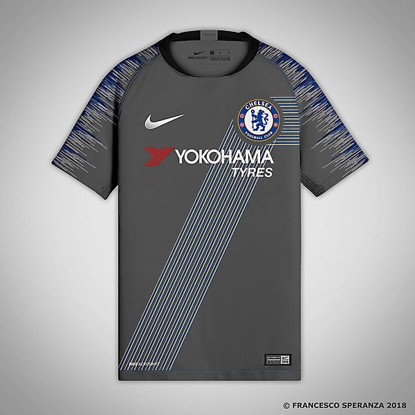 Chelsea FC - third