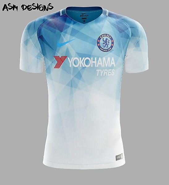 Chelsea FC Nike 2018 Home Kit