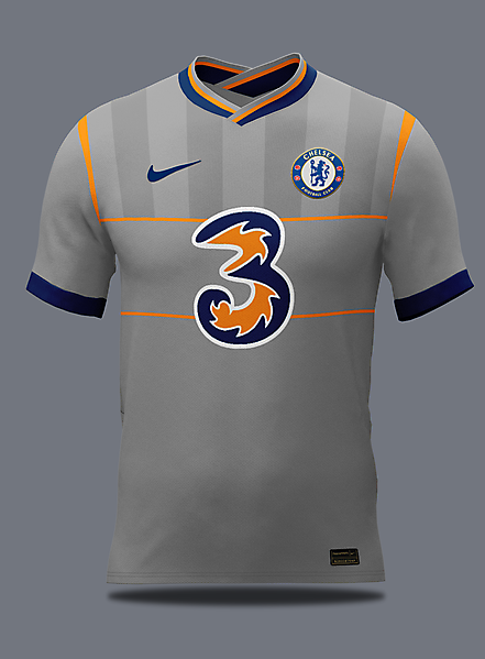Chelsea throwback away concept