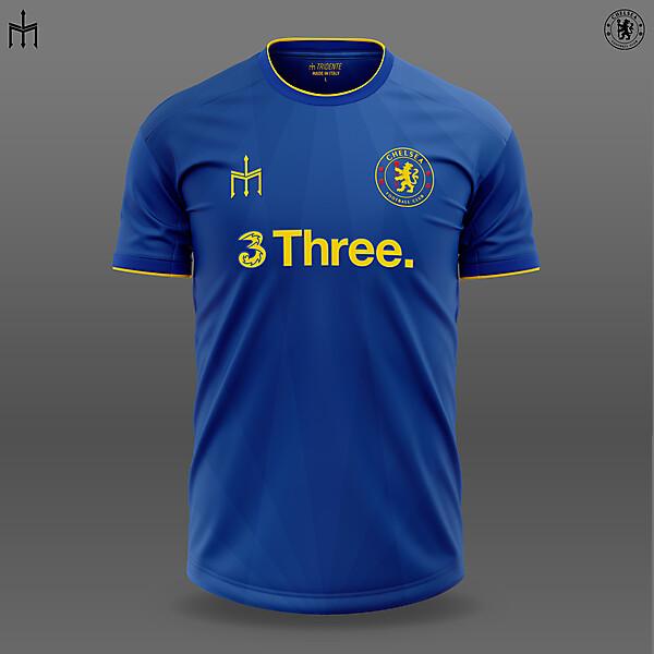 Chelsea X TRIDENTE   Home Shirt