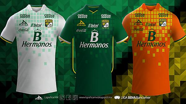 Club Leon Pirma Kits