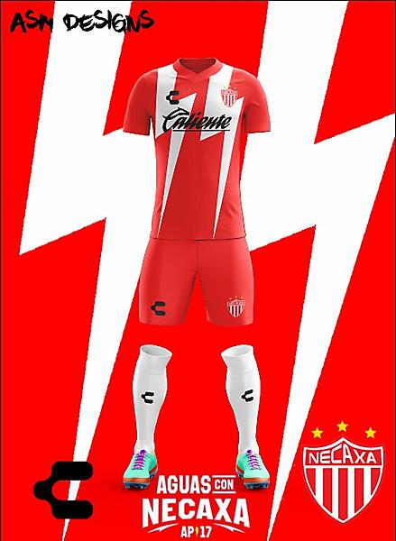 Club Necaxa Charly 2018 Home Kit