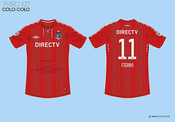 Colo-Colo   third kit