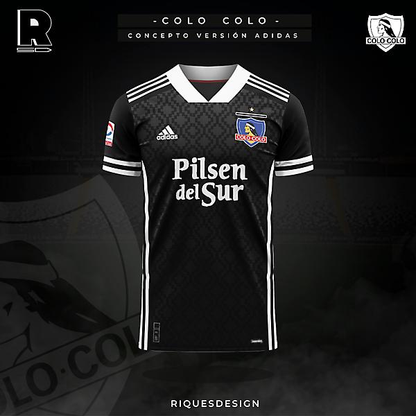 Colo Colo - Concepto Adidas Visita