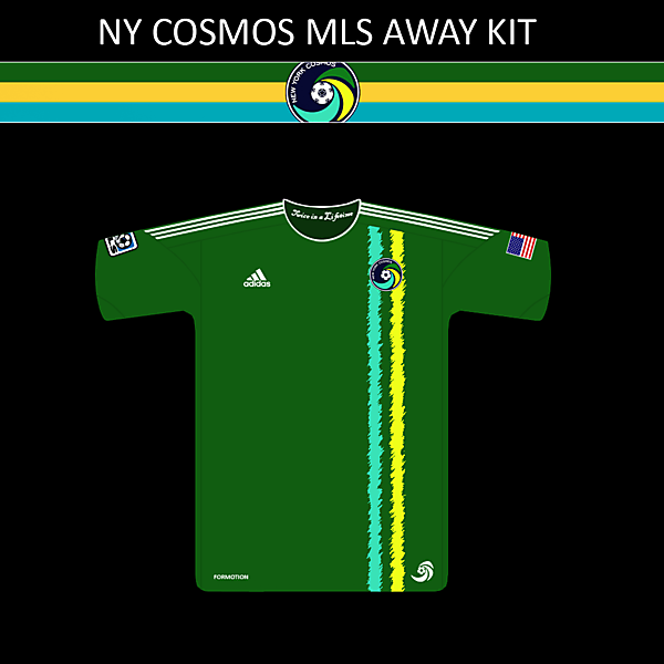 NY Cosmos MLS Away Kit