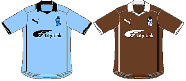 Coventry City Puma Home and Away
