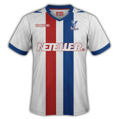 Crystal Palace Away Kit 2015-16