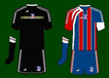Crystal Palace Adidas Kits