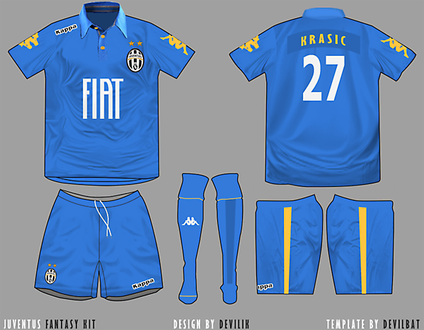 Juventus Kappa third
