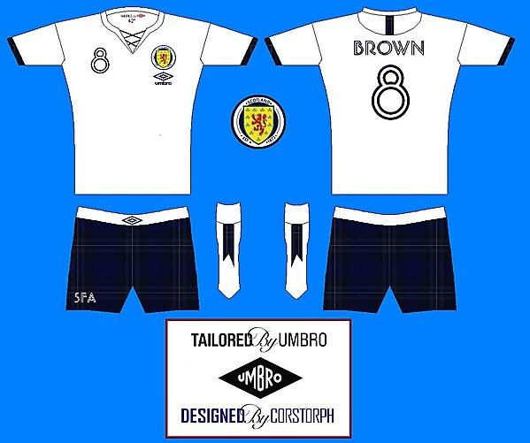 Scotland Jacobean Away Kit