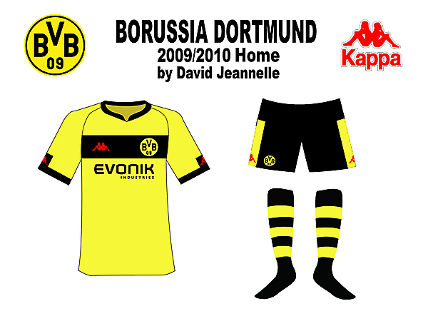 Dortmund Home 09/10