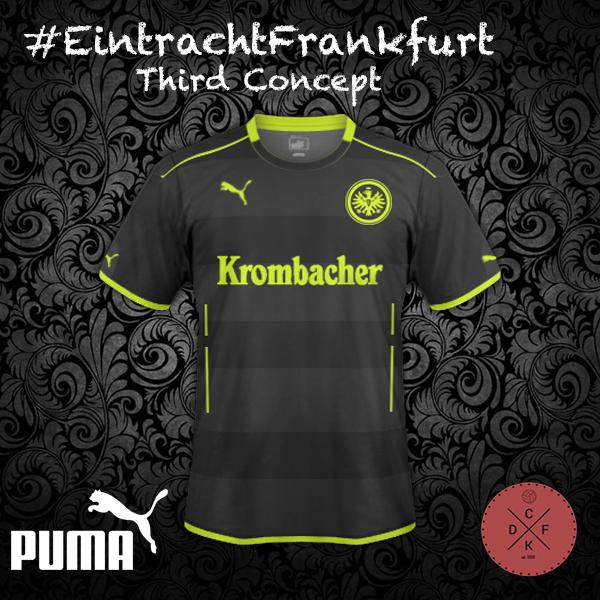 Eintracht Frankfurt Third Puma Concept