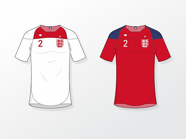 England NT [fantasy kits]