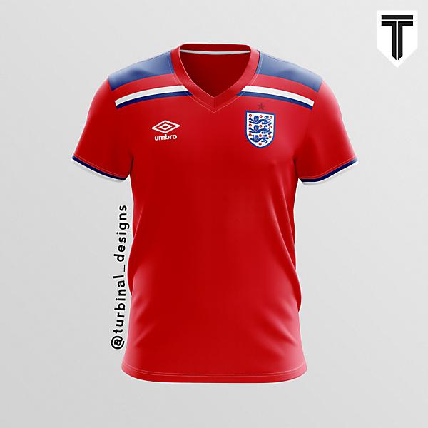 England Umbro Away Concept Kit