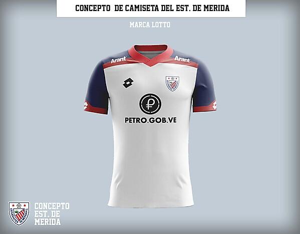 Estudiantes de Mérida - Concepto de camiseta