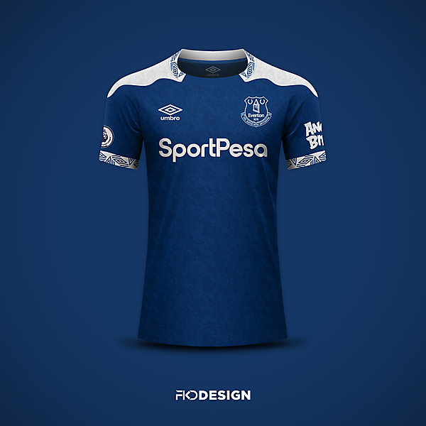 Everton | Umbro | Home