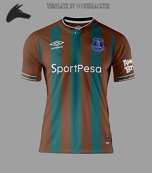 Everton away concept