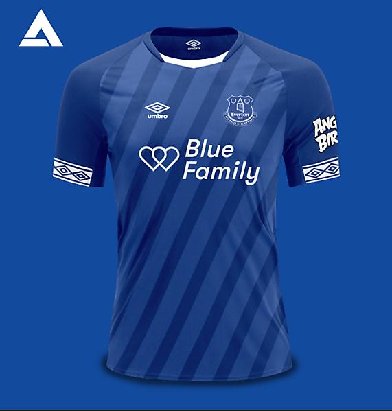 Everton Umbro 2021 Home Kit