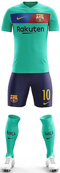 FC Barcelona 2018/19 Away Kit
